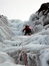 "Photo: Me on ""Ice Crew"", III, on Beinn Udlaidh."