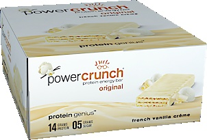 Power Crunch Protein Energy Bar - French Vanilla Creme