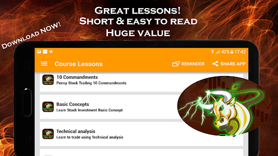 Penny Stocks - Trading Course- screenshot thumbnail