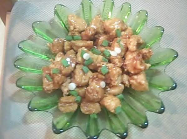 Orange Carmel  Ginger Chicken Recipe