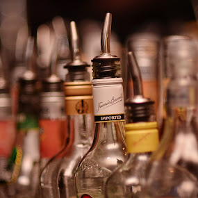 everything at one by Goddes Puffz - Food & Drink Alcohol & Drinks ( #botol, #drunk, #alcohol, #fineart, #drink )