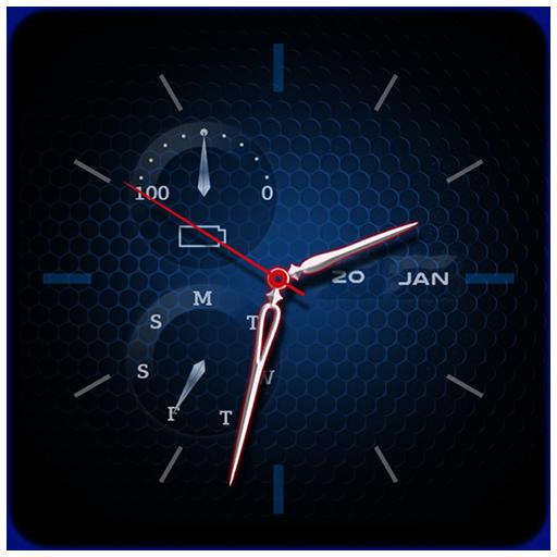 Time Clock Live Wallpaper
