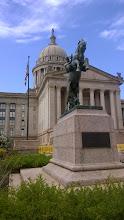 "Photo: August 8-Oklahoma State Capitol ""Oklahoma City is mighty pretty..."""