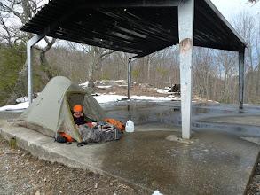 Photo: A special tent spot.
