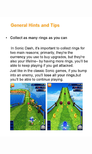 New Guide For Sonic Dash