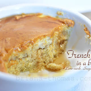 French Toast in a Bowl.