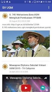 Vokasi Apps SV UGM - náhled
