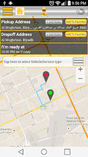 MYTAXI SAUDIA- screenshot thumbnail