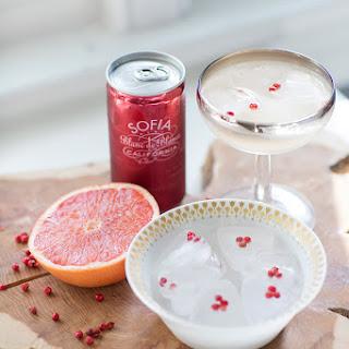 Grapefruit Fizz + Pink Peppercorn Panna Cotta