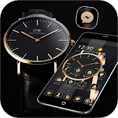 Gold Black Classic Watch Theme