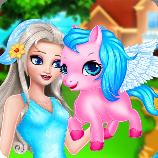 피드 & 케어 포니 - 안젤라 소녀 休閒 App LOGO-APP試玩