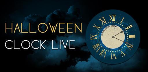halloween clock widget
