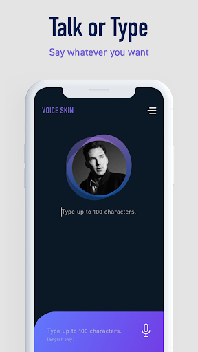 Voice Skin - Celebrity Voice Changer App Report on Mobile