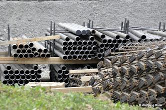 Photo: Bauteile für den Fildertunnel