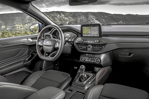 The interior features more technology and more space thanks to an increase in wheelbase. Picture: FORD