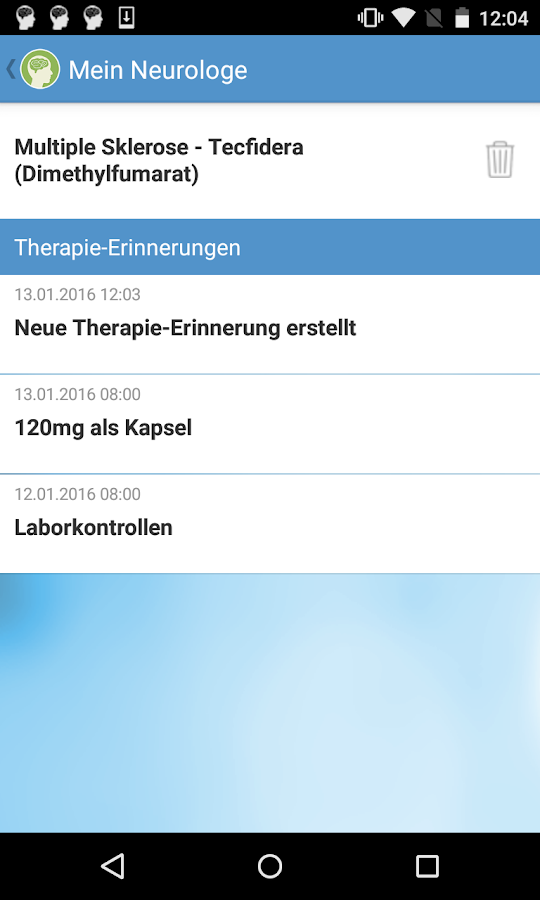 PraxisApp - Mein Neurologe- screenshot
