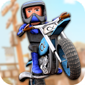 Cartoon Dirt Bike Runner