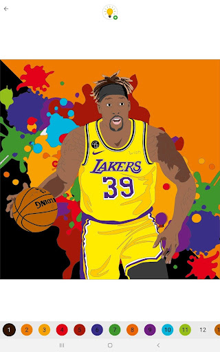 Coloring Basketball screenshot 6