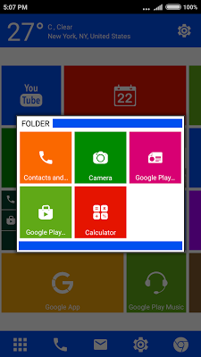 WP 8 Launcher - Metro Theme - screenshot