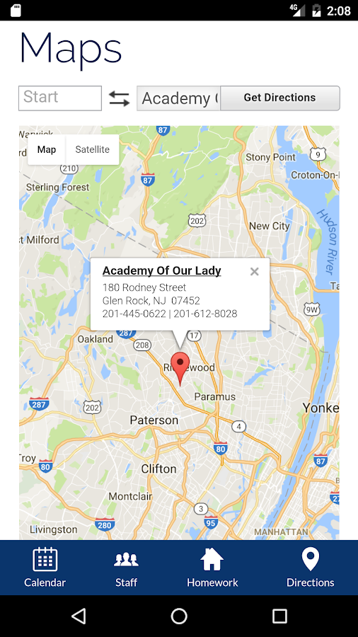 Academy of Our Lady School- screenshot