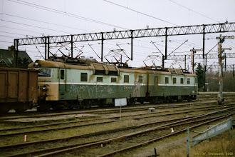 Photo: ET40-45 {Toruń Wschodni; 2002-11-27}