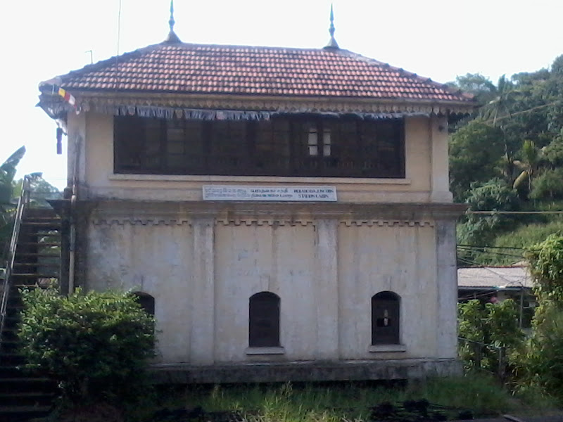 Photo: This is the old station cabin. Must be as old as the old Peradeniya Station.
