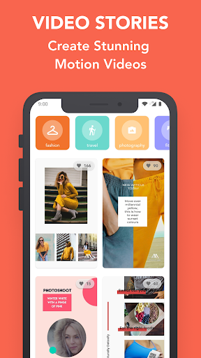Mouve - animated video maker for Instagram, Tiktok 0.481 Apk for Android 1