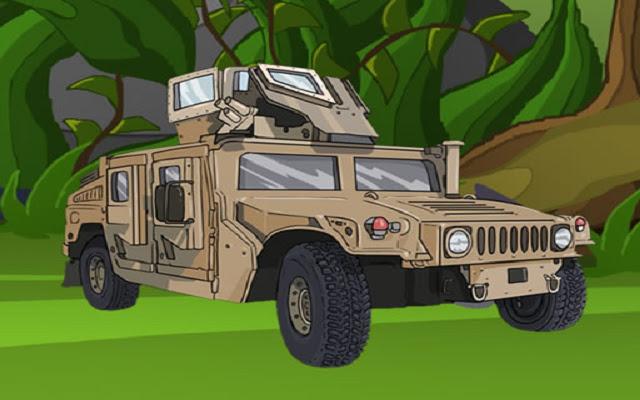 Army Vehicles Memory
