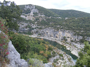 Photo: The day's final stop is at the Gorges de l'Ardèche, sometimes called the Grand Canyon of France.