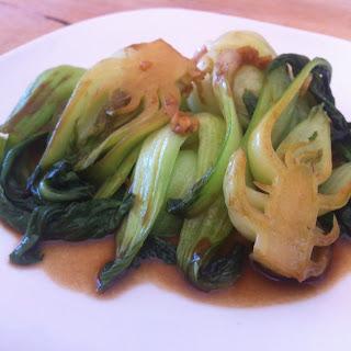 Garlic-Ginger Baby Bok Choy.