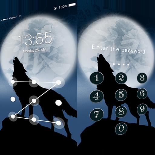 Applock Theme Ice Wolf 程式庫與試用程式 App LOGO-APP開箱王