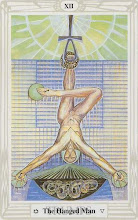 Photo: .XII. The Hanged Man - O Dependurado Thoth Tarot Crowley