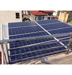 Hệ thống điện mặt trời nối lưới một pha 3kw