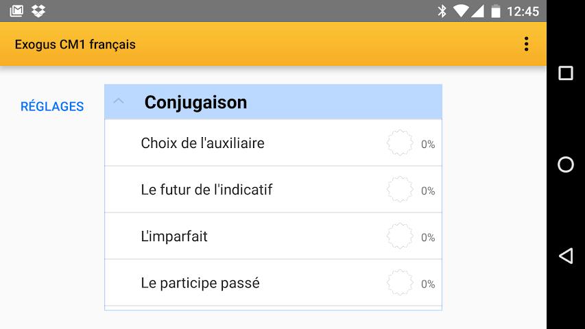 android Exogus CM1 Révision français Screenshot 0