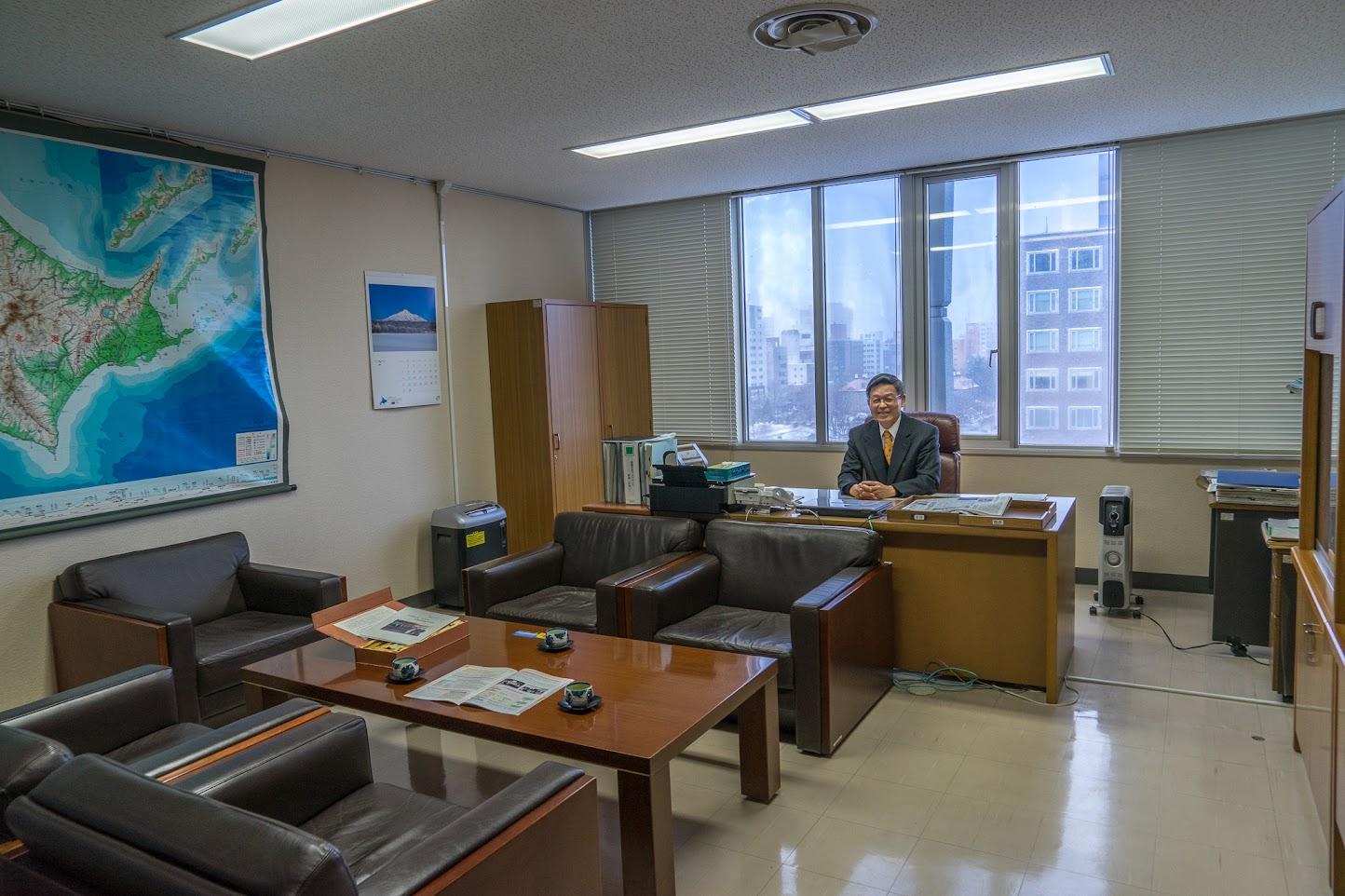 北海道運輸局局次長 磯崎道利様 表敬訪問