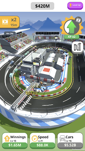 Idle Race Track - screenshot