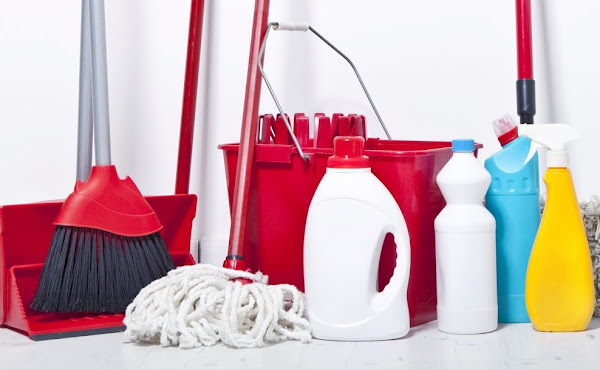 domestic cleaning materials