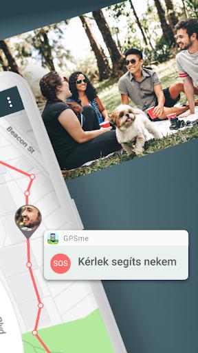 GPSme - én és az egész családom - a térképen! screenshot
