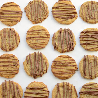 Toffee Butter Cookies with Chololate