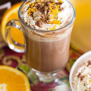 Grand Marnier & Kahlua Hot Chocolate Lattes.