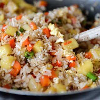 Pineapple Cashew Fried Rice.