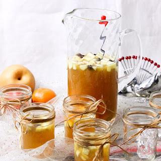 Bourbon Apple Cider Fruity Punch.