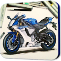 Learn to Draw Super Bike icon