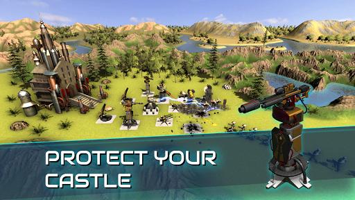 Boulder Base - Futuristic Castle Defense  screenshots 1