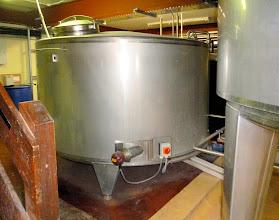 Photo: hot liquor tank