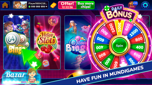 MundiGames - Slots, Bingo, Poker, Blackjack & more 1.7.31 screenshots 1