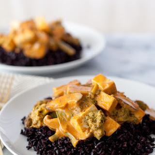 Vegetable & tofu Thai curry