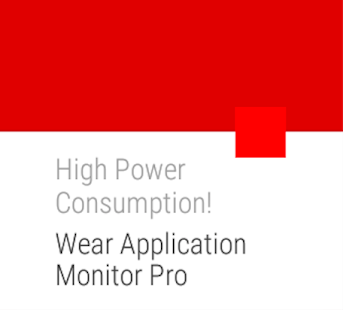 Wear Application Monitor Pro- screenshot thumbnail