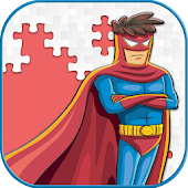 Super Hero Jigsaw Puzzle Game For kids