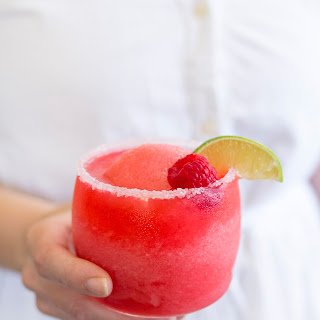 Raspberry Rose Margaritas